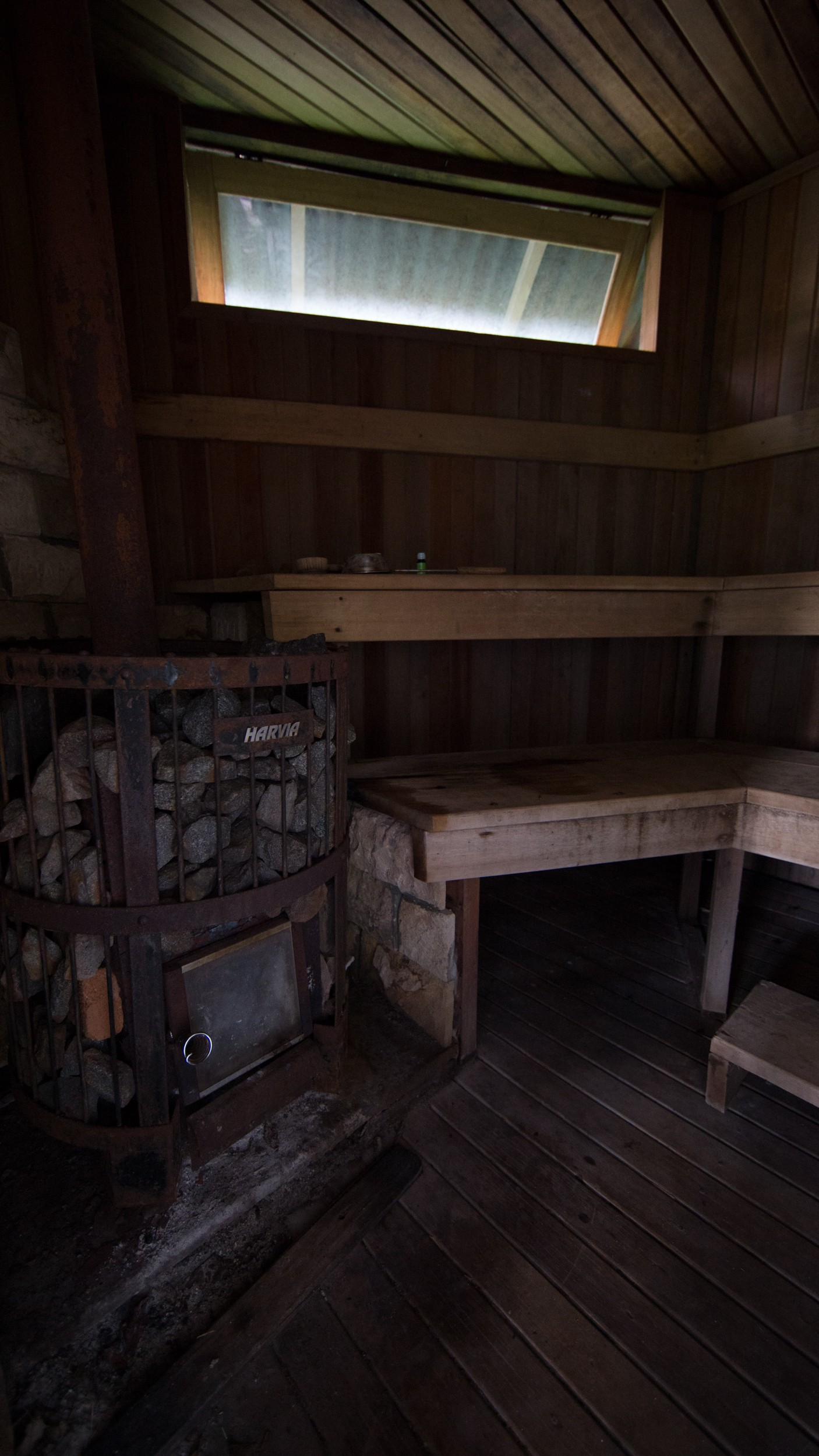 Authentic Finnish sauna in Bunaken island