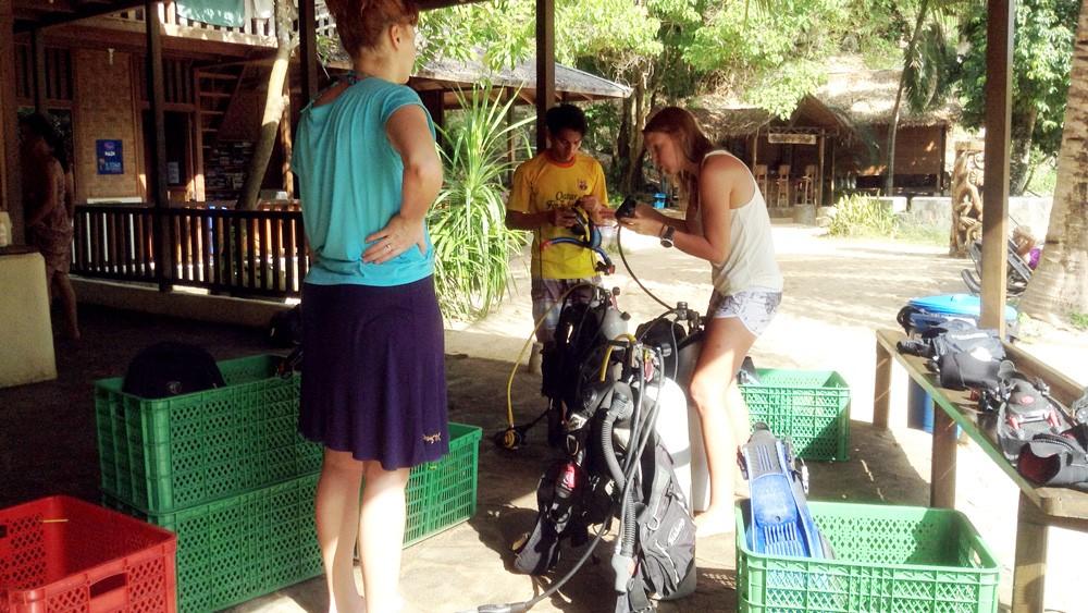 PADI Divemaster course in Bunaken
